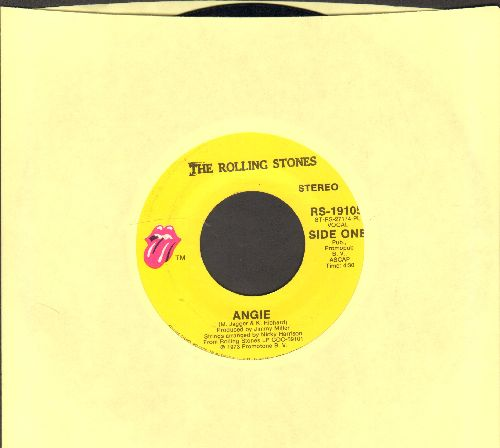 Rolling Stones - Angie/Silver Train - EX8/ - 45 rpm Records
