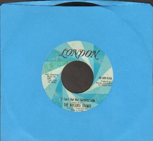Rolling Stones - I Can't Get No Satisfaction/The Under Assistant West Coast Promotion Man  - G5/ - 45 rpm Records