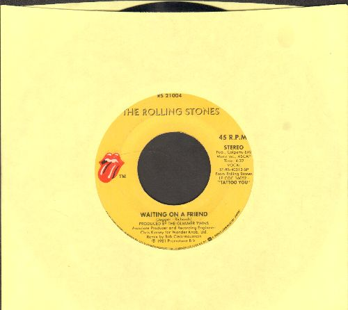 Rolling Stones - Waiting On A Friend/Little T & A - EX8/ - 45 rpm Records