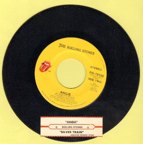 Rolling Stones - Angie/Silver Train (with juke box label) - NM9/ - 45 rpm Records