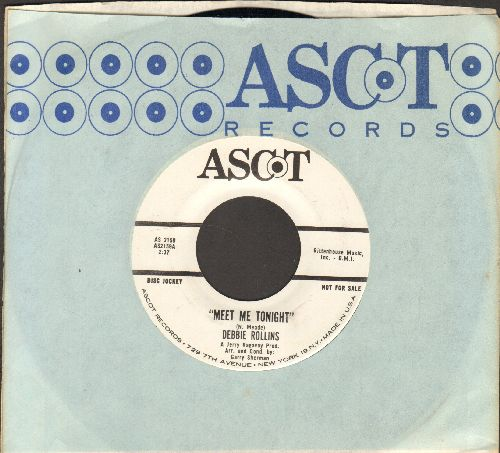 Rollings, Debbie - Meet Me Tonight/Don't Let It Get You, Girl (RARE Vintage Girl-Sound 2-sider, with Ascot company sleeve, NICE conditon!) - NM9/ - 45 rpm Records