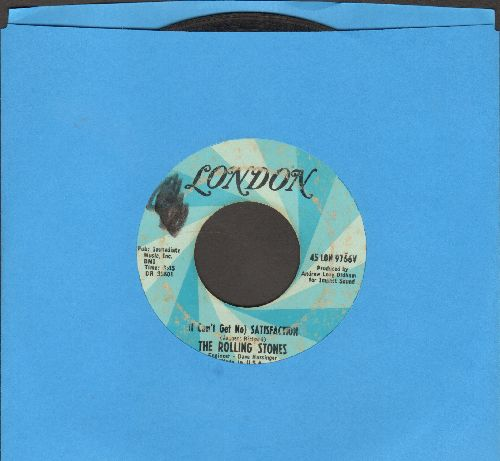 Rolling Stones - I Can't Get No Satisfaction/The Under Assistant West Coast Promotion Man (wol) - VG6/ - 45 rpm Records