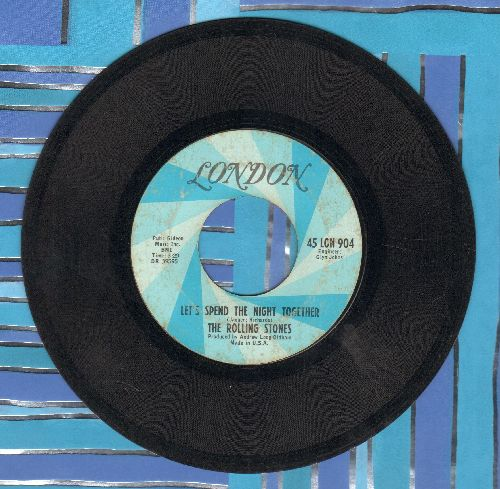 Rolling Stones - Ruby Tuesday/Let's Spend The Night Together (minor wol) - VG7/ - 45 rpm Records