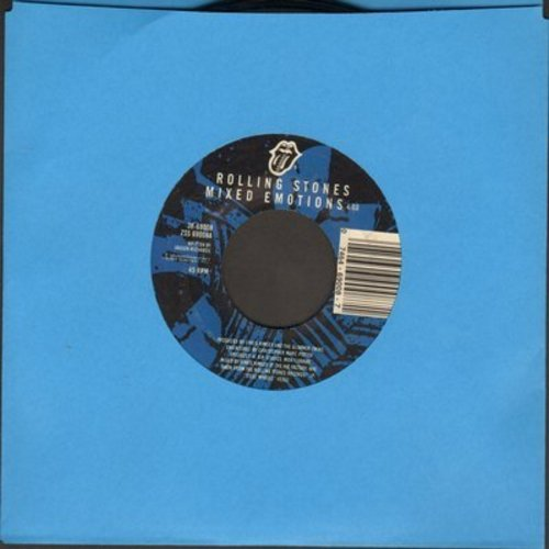 Rolling Stones - Mixed Emotions/Fancy Man Blues (with juke box label) - NM9/ - 45 rpm Records