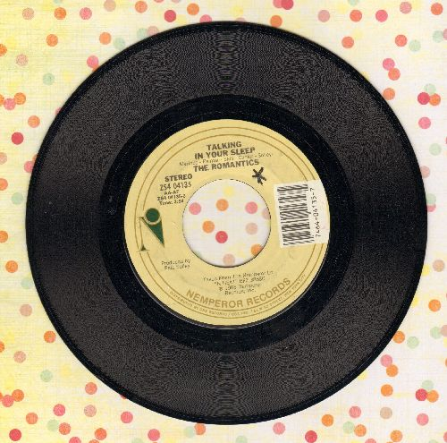 Romantics - Talking In Your Sleep/I'm Hip - EX8/ - 45 rpm Records