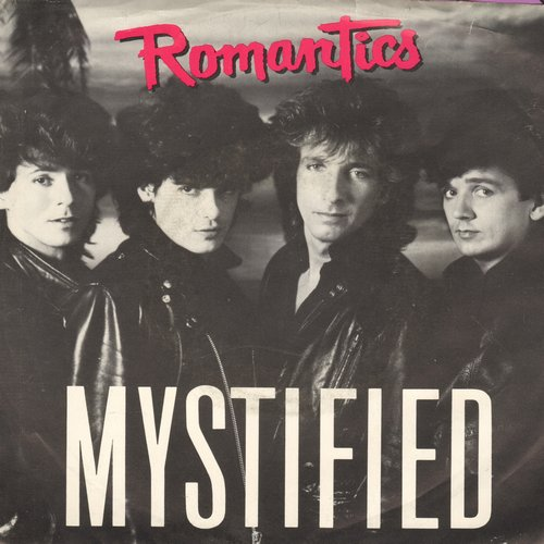 Romantics - Mystified (double-A-sided DJ advance pressing with picture sleeve) - NM9/NM9 - 45 rpm Records