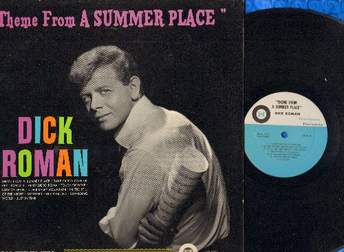 Roman, Dick - Theme From A Summer Place: Climb Every Mountain, Still Of The Night, Lili Marleen, Arrivederci Roma (Vinyl MONO LP record) - EX8/EX8 - LP Records