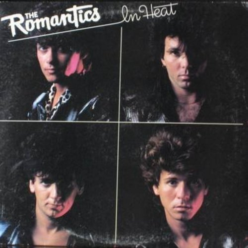 Romantics - In Heat: One In A Million, Talking In Your Sleep, Shake A Tail Feather, Open Up Your Door (Vinyl STEREO LP record) - EX8/VG7 - LP Records
