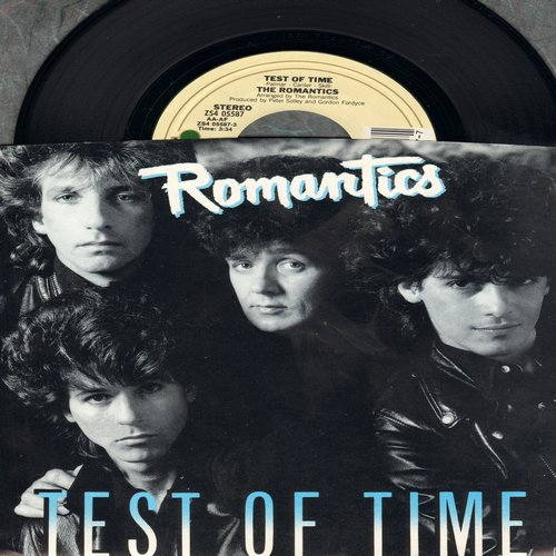 Romantics - Test Of Time/Better Make A Move (with picture sleeve) - M10/NM9 - 45 rpm Records