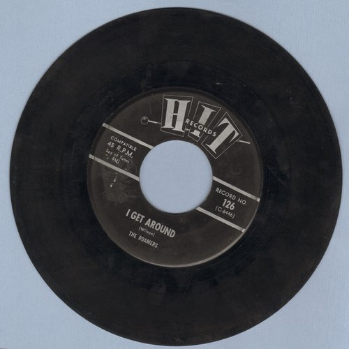 Roamers - I Get Around/Yesterday's Gone (contemporary cover versions) - VG7/ - 45 rpm Records