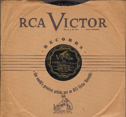 Whiteman, Paul & His Orchestra, Jack Teagarden's Chicagoans, Sonny Greer & The Duke's Men, others - Ramona/Lonely Melody (RARE 1928 10 inch 78 rpm pressing with RCA Victor company sleeve) - EX8/ - 78 rpm