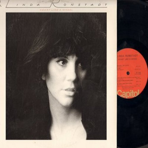 Ronstadt, Linda - Heart Like A Wheel: You're No Good, It Doesn't Matter Anymore, When Will I Be Loved (Vinyl STEREO LP record) - NM9/EX8 - LP Records