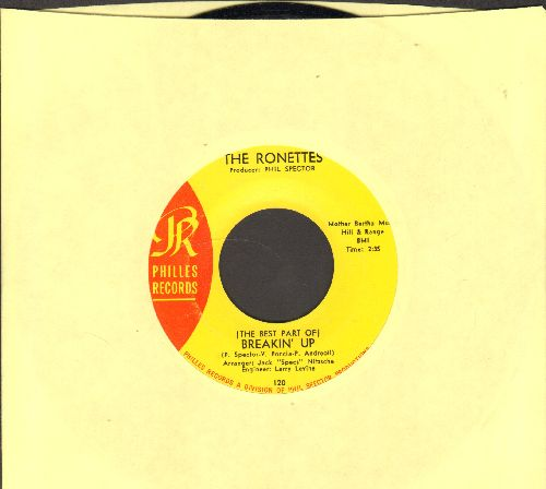 Ronettes - (The Best Part Of) Breakin' Up/Big Red - NM9/ - 45 rpm Records