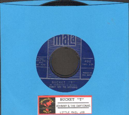 Ronny & The Daytonas - Bucket T/Little Rail Job (with juke box label) - EX8/ - 45 rpm Records