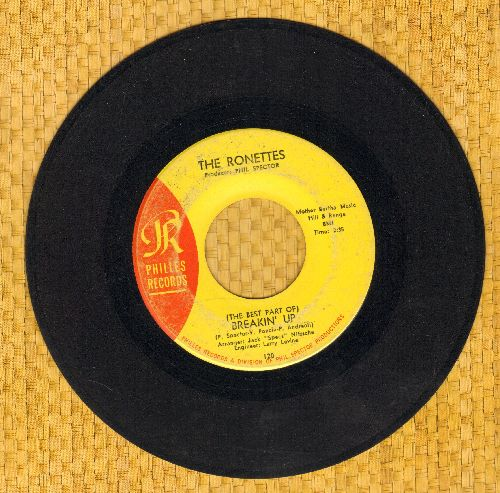 Ronettes - (The Best Part Of) Breakin' Up/Big Red - VG7/ - 45 rpm Records