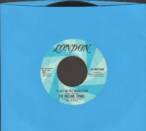 Rolling Stones - I Can't Get No Satisfaction/The Under Assistant West Coast Promotion Man - EX8/ - 45 rpm Records