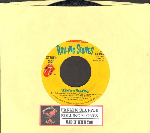 Rolling Stones - Harlem Shuffle/Had It With You (with juke box label) - EX8/ - 45 rpm Records