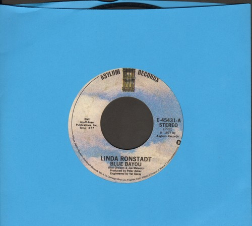 Ronstadt, Linda - Blue Bayou/Old Paint  - EX8/ - 45 rpm Records