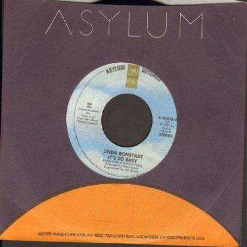 Ronstadt, Linda - It's So Easy/Lo Siento Mi Vida - NM9/ - 45 rpm Records