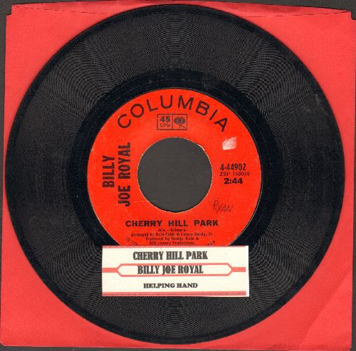 Royal, Billy Joe - Cherry Hill Park/Helping Hand (with juke box label) - VG7/ - 45 rpm Records