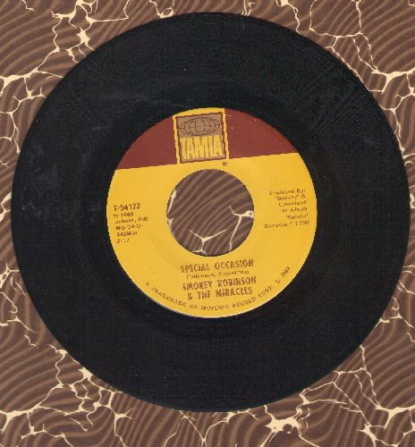 Robinson, Smokey & The Miracles - Special Occasion/Give Her Up  - EX8/ - 45 rpm Records