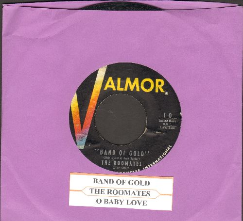 Roomates - Band Of Gold/O Baby Love (with juke box label) - EX8/ - 45 rpm Records