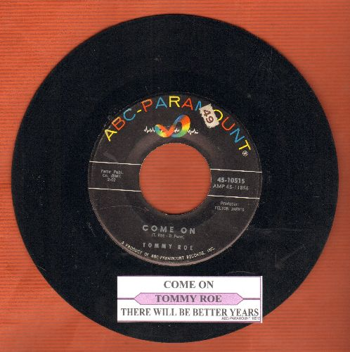 Thomas, Jean - Moon River/My Ideal (DJ advance pressing) - EX8/ - 45 rpm Records