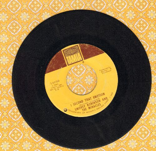 Robinson, Smokey & The Miracles - I Second That Emotion/You Must Be Love (bb) - VG7/ - 45 rpm Records