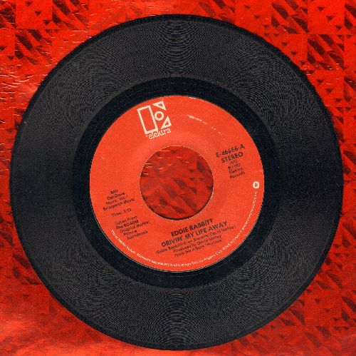 Rabbitt, Eddie - Drivin' My Life Away/Pretty Lady  - EX8/ - 45 rpm Records