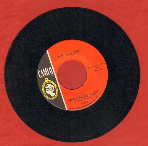 Orlons - Shimmy Shimmy/Everything Nice - EX8/ - 45 rpm Records