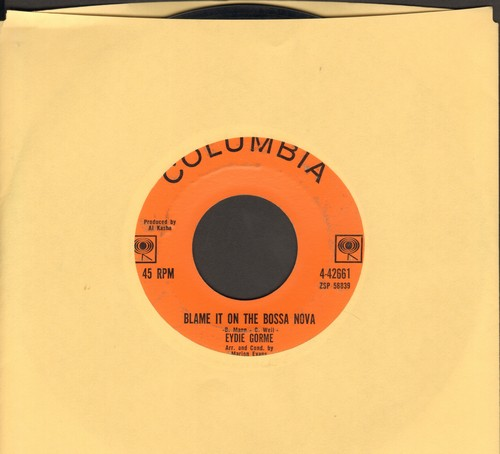 Gorme, Eydie - Blame It On The Bossa Nova/Guess I Should Have Loved Him More  - VG7/ - 45 rpm Records