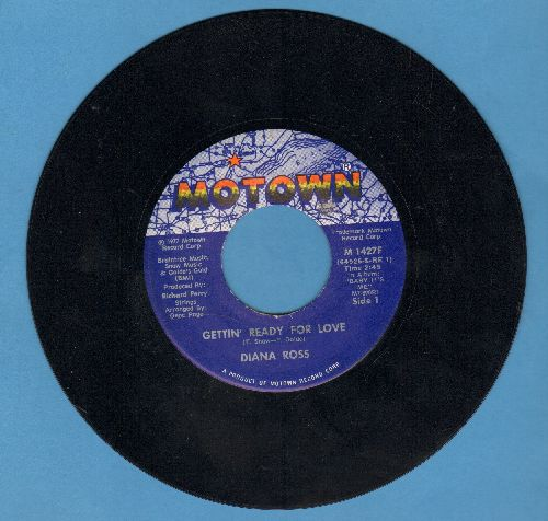 Ross, Diana - Getting' Ready For Love/Confide In Me - NM9/ - 45 rpm Records