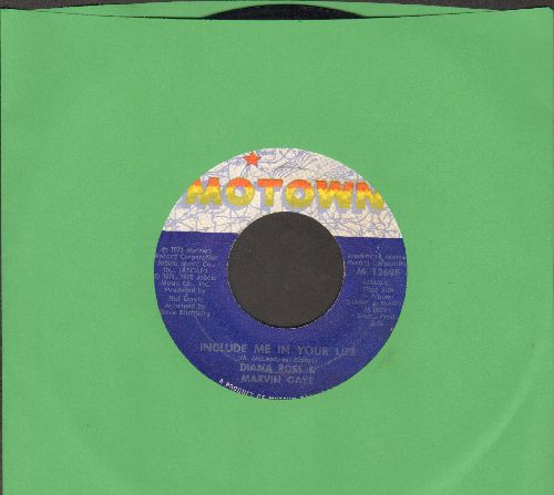 Ross, Diana & Marvin Gaye - Include Me In Your Life/My Mistake (Was To Love You) - EX8/ - 45 rpm Records
