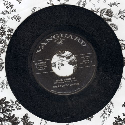 Rooftop Singers - Walk Right In (Sit Right Down)/Cool Water  - EX8/ - 45 rpm Records