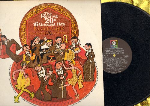 Light, Enoch & The Charleston City All Stars - The Roaring 20s 16 Greatest Hits: Sonny Boy, California Here I Come, Baby Face, The Sheik Of Araby (Vinyl STEREO LP record) - NM9/EX8 - LP Records