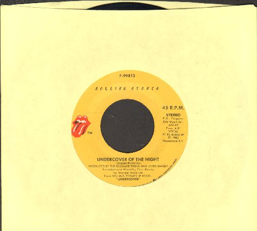 Rolling Stones - Undercover Of The Night/All The Way Down  - NM9/ - 45 rpm Records