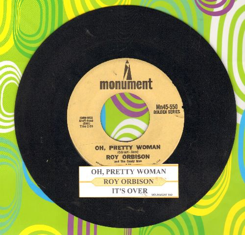 Orbison, Roy - Oh, Pretty Woman/It's Over (double-hit re-issue) - EX8/ - 45 rpm Records