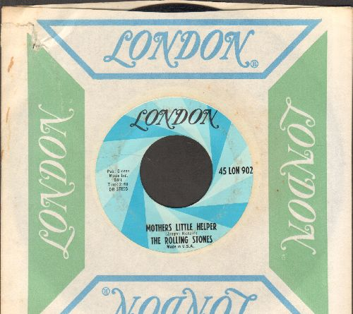 Rolling Stones - Mother's Little Helper/Lady Jane (with London company sleeve) - EX8/ - 45 rpm Records
