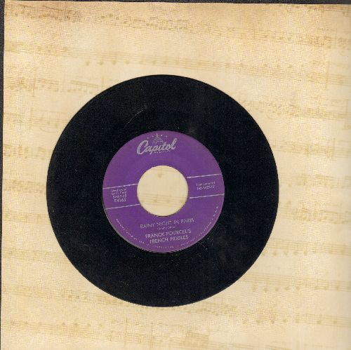 Pourcel, Franck - Rainy Night In Paris/Only You - VG7/ - 45 rpm Records