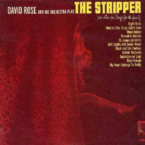 Rose, David & His Orchestra - The Stripper: Banned In Boston, My Heart Belongs To Daddy, Blue Prelude - NM9/EX8 - LP Records