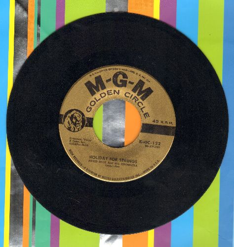Rose, David & His Orchestra - Holiday For Srtings/Calypso Melody (gold label early re-issue) - EX8/ - 45 rpm Records