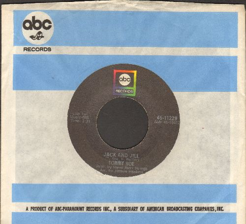 Roe, Tommy - Jack And Jill/Tip Toe Tina (with company sleeve) - EX8/ - 45 rpm Records