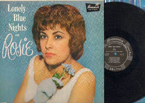 Rosie - Lonely Blue Nights With Rosie: Angel From Above, Cloud Nine, Maybe I'm Dreamin', The Time Is Near (vinyl MONO LP record) - EX8/NM9 - LP Records