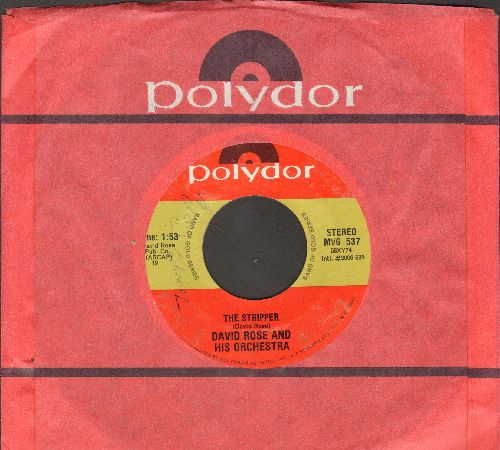 Eddy, Duane - Because They're Young/Rebel Walk  - VG6/ - 45 rpm Records