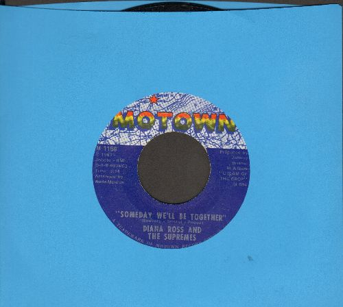 Supremes - Someday We'll Be Together/He's My Sunny Boy  - EX8/ - 45 rpm Records