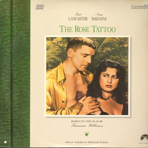 The Rose Tattoo - The Rose Tattoo - LASERDISC version of the Classic Drama starring Burt Lancaster and Anna Magnani (Oscar Winning performance!) (This is a LASERDISC, not any other kind of media!) - NM9/EX8 - LaserDiscs
