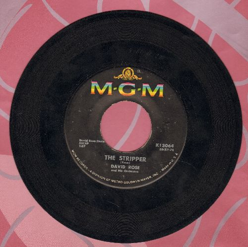 Rose, David & His Orchestra - The Stripper (Favorite at Wedding Receptions' -Garter Belt- Removal)/Ebb Tide  - EX8/ - 45 rpm Records