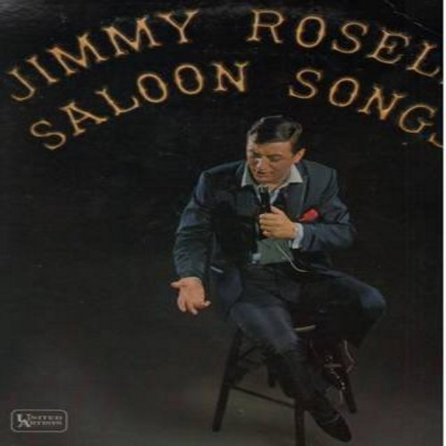 Roselli, Jimmy - Saloon Songs: Carolina In The Morning, Who's Sorry Now?, Daddy's Little Girl, That Old Gang Of Mine, Margie (Vinyl MONO LP record) - NM9/EX8 - LP Records