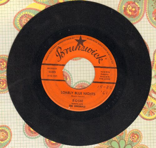 Rosie (formerly with The Originals) - Lonely Blue Nights/We'll Have A Chance - VG7/ - 45 rpm Records