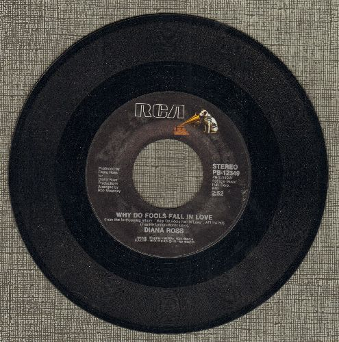 Ross, Diana - Why Do Fools Fall In Love?/Think I'm In Love (MINT condition) - M10/ - 45 rpm Records